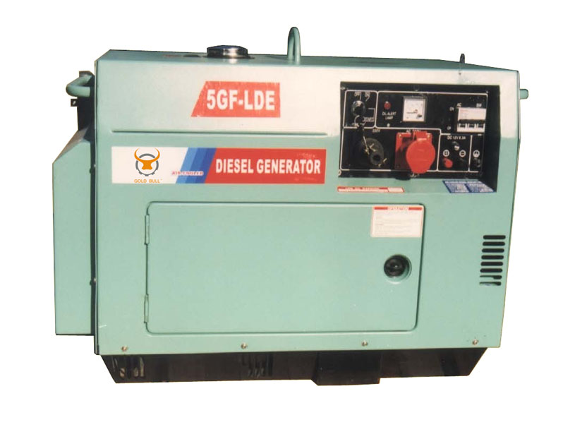 Low Noise Diesel Generator (Big Tank with ATS or Automatic)